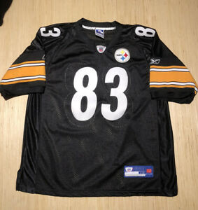 Details about Reebok NFL Authentic Pittsburgh Steelers Heath Miller NFL Football Jersey 48