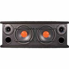"Doble Doble Caja Del Altavoz Tweeter de rango medio 6.5"" Car Audio 300W integrado Ganga!"