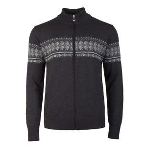 NEW-Dale-of-Norway-HOVDEN-Men-039-s-Norwegian-Wool-Jacket-DK-CHARCOAL-Black