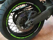 ADESIVI CERCHIONI MOTO wheels stickers lateral kit standart stripes per Yamaha
