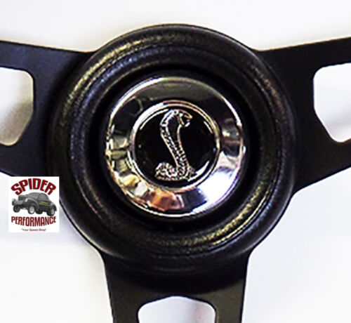 "1968-1969 Torino steering wheel COBRA 13 3//4/"" BLACK SPOKE steering wheel"