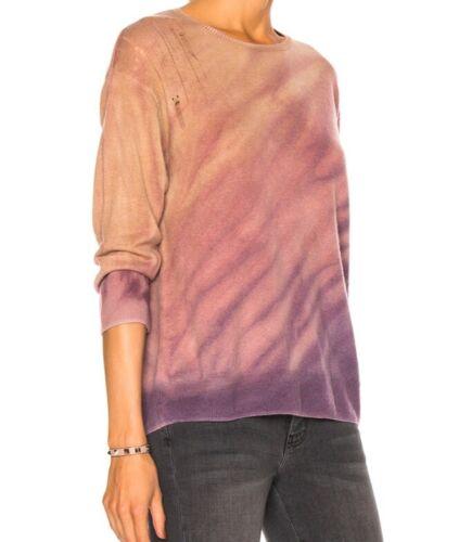 Raquel Allegra Tie Dye Sweater 3 L Wool Cashmere