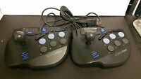 6 Lot Eclipse Arcade Joystick Joy Stick Controllers For Sega Saturn White Boxes