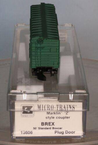 50´ Std Micro Trains 13606 Spur Z für Märklin Miniclub Boxcar  BREX