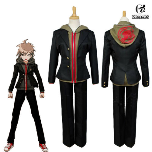 Danganronpa Dangan-Ronpa Makoto Naegi Cosplay Costume Cosplay FANCY custom made