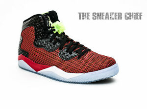 san francisco 743cb a0135 Image is loading AIR-JORDAN-SPIKE-FORTY-BASKETBALL-SHOES-UNIVERSITY-RED-