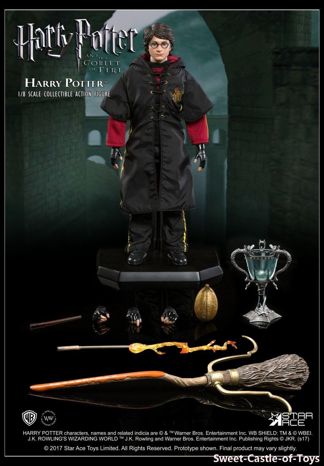 SA8001A – The 1 8th scale Harry Potter (Tri-wizard Tournament Version) Be the fi