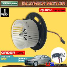 AC A//C Blower Motor w// Fan Cage for BMW 323i 328i xDrive 330i 335d X1 X5 Z4