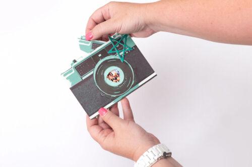 INTERACTIVE CARDS scrapbooking 4pc Heidi Swapp HELLO TODAY