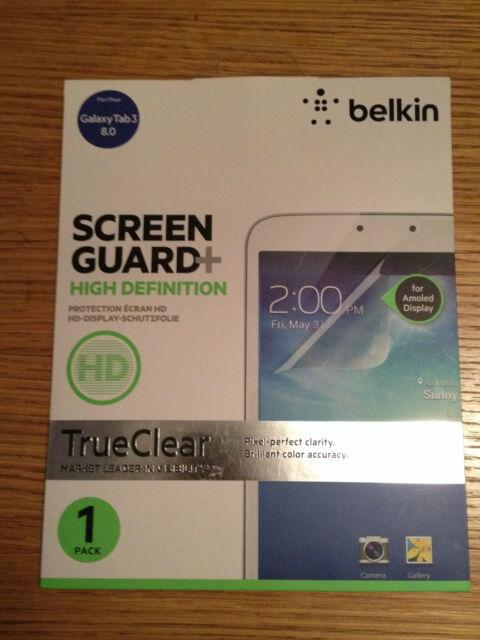 "BELKIN SCREEN GUARD + HD SCREEN PROTECTOR FOR SAMSUNG GALAXY TAB 3 8"""