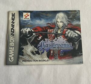 Nintendo-Gameboy-Advance-Castlevania-Harmony-Of-Dissonance-MANUAL-ONLY-GBA