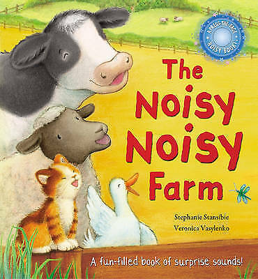 1 of 1 - The Noisy Noisy Farm - Picture Book with Sounds - New paperback book