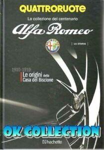 LIBRO-CENTENARIO-ALFA-ROMEO-1910-1919-Book-Centenary-Alfa-Collection-Hachette