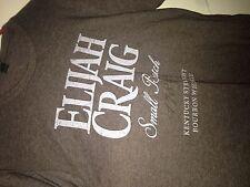 Elijah Craig Bourbon Small Batch 1789 Kentucky straight Whiskey Large shirt New