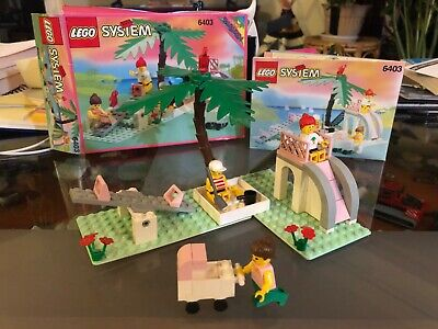 Completed LEGO 6403 Paradise Playground