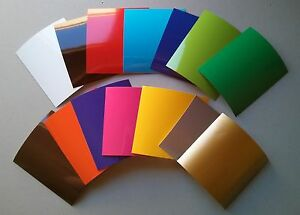 10-034-X-12-034-Craft-Adhesive-Vinyl-Sheet-Scrapbook-Vehicle-Graphic-651-Choose-Color