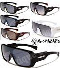 NEW Biohazard Mens Vtg/Retro Goggle Style Sunglasses-Color Choices-NWT's