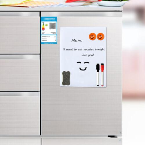 A5 Weich Magnetisch Whiteboard Trocken Löschen Aufzeichnung Tafel Kühlschrank