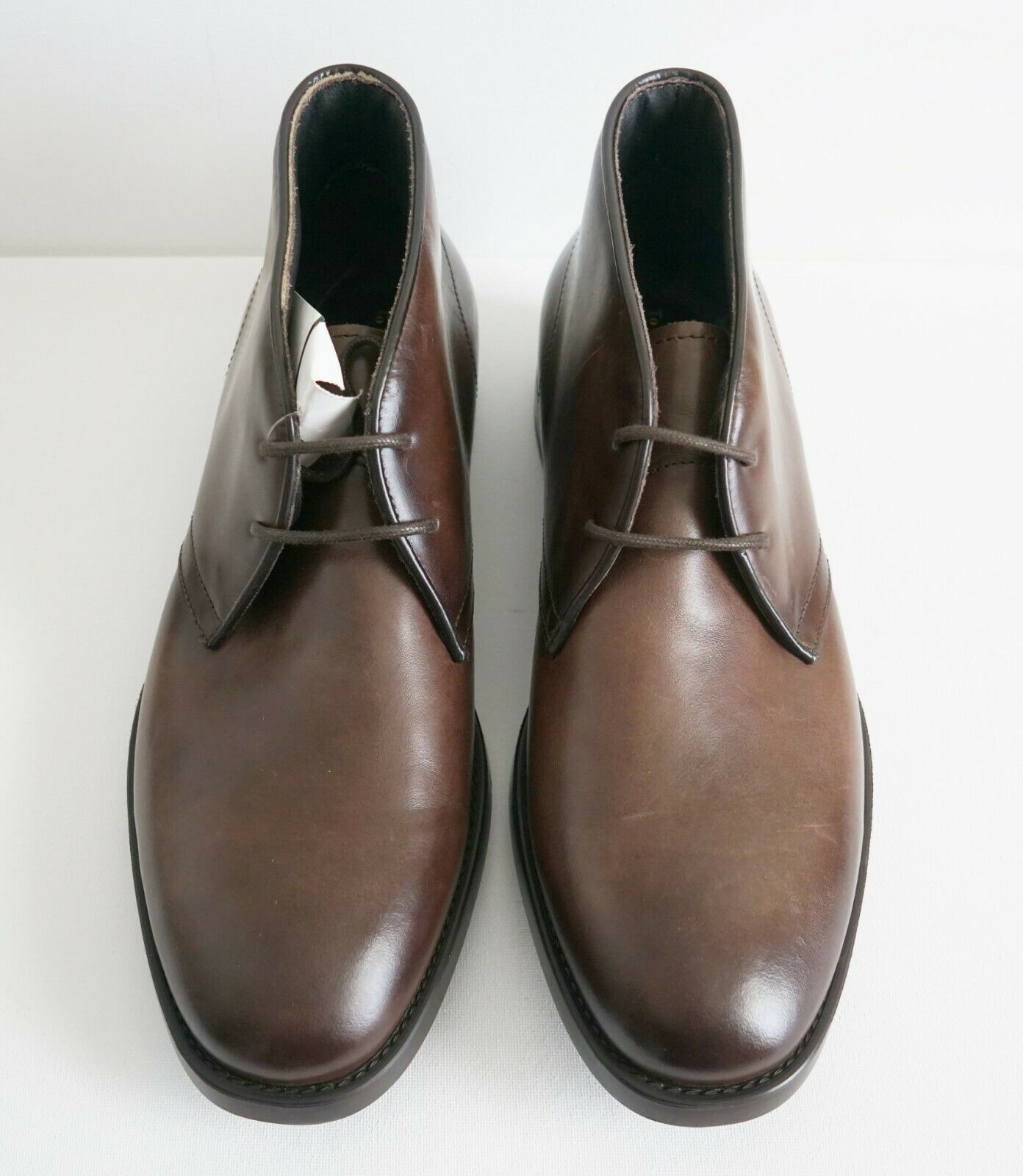 450 TO BOOT NEW YORK ADAM DERRICK Men's CONTE Leather CHUKKA Boots US-9.5M