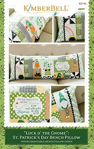 Kimberbell Luck O/' The Charm Patrick/'s Day Bench Pillow Sewing St