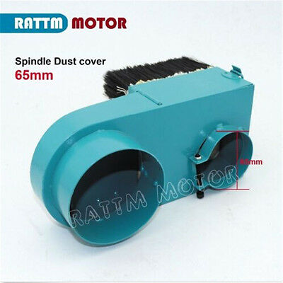 NEW 65mm Spindle Dust Cover (dust shoe) Vacuum Clean Woodworking For CNC Router