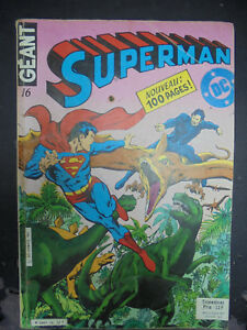 Bd - Superman N°16 - 1982