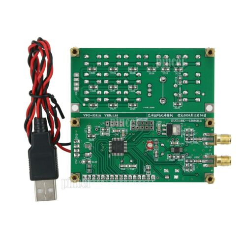 Details about  /Signal Generator 2CH Signal Source VFO-5351A V1.03 Square Wave Out 10K-150MHz