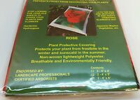 Horti-shield Plant Protective Covering Frost Winter Rose Garden 4x6