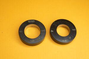 "Diatest no 042 .90/"" Bore Plug Ring Gage Gauges"