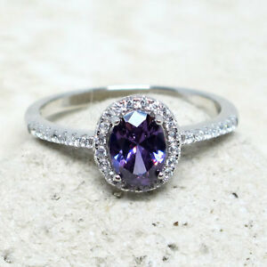 GORGEOUS-1-CT-OVAL-AMETHYST-PURPLE-925-STERLING-SILVER-RING-SIZE-5-10