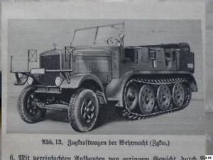 Manuel-KRADMELDER-Wehrmacht-ZUNDAPP-KS-750-600-KDF-Voiture-bmw-r75-NSU-OSI-601