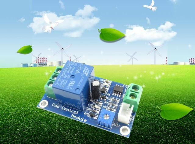 12V Car Light Control Switch Photoresistor Relay Module Detection Sensor  cv