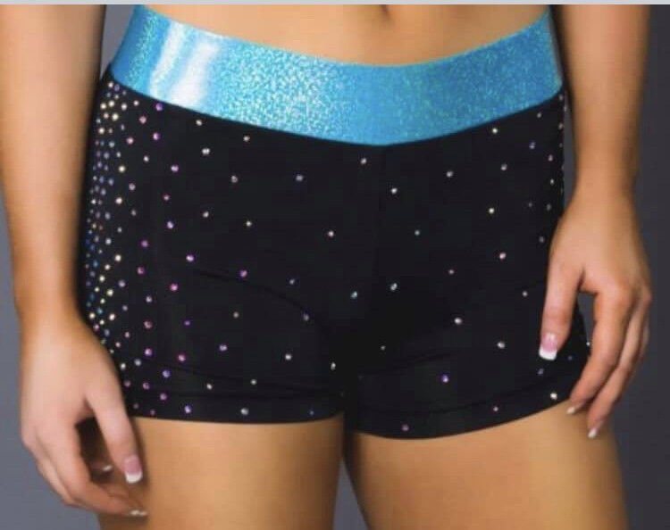 Brand New Rebel cheerleading shorts
