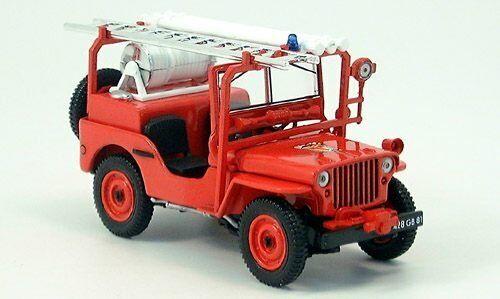 Jeep Willys Coombs Pompiers du Tarn 845002 1 43 norev