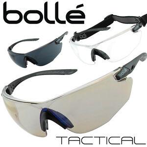 05ee2459f9fb98 Kit COMBAT Bollé Tactical lunettes de soleil balistiques noir armée ...