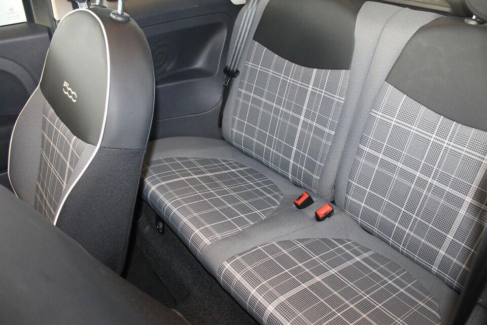 Fiat 500C 0,9 TwinAir 80 Lounge Benzin modelår 2017 km 13000