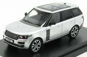 LCD-MODEL 1/64 LAND ROVER | RANGE SV AUTOBIOGRAPHY DYNAMIC 2017 | SILVER