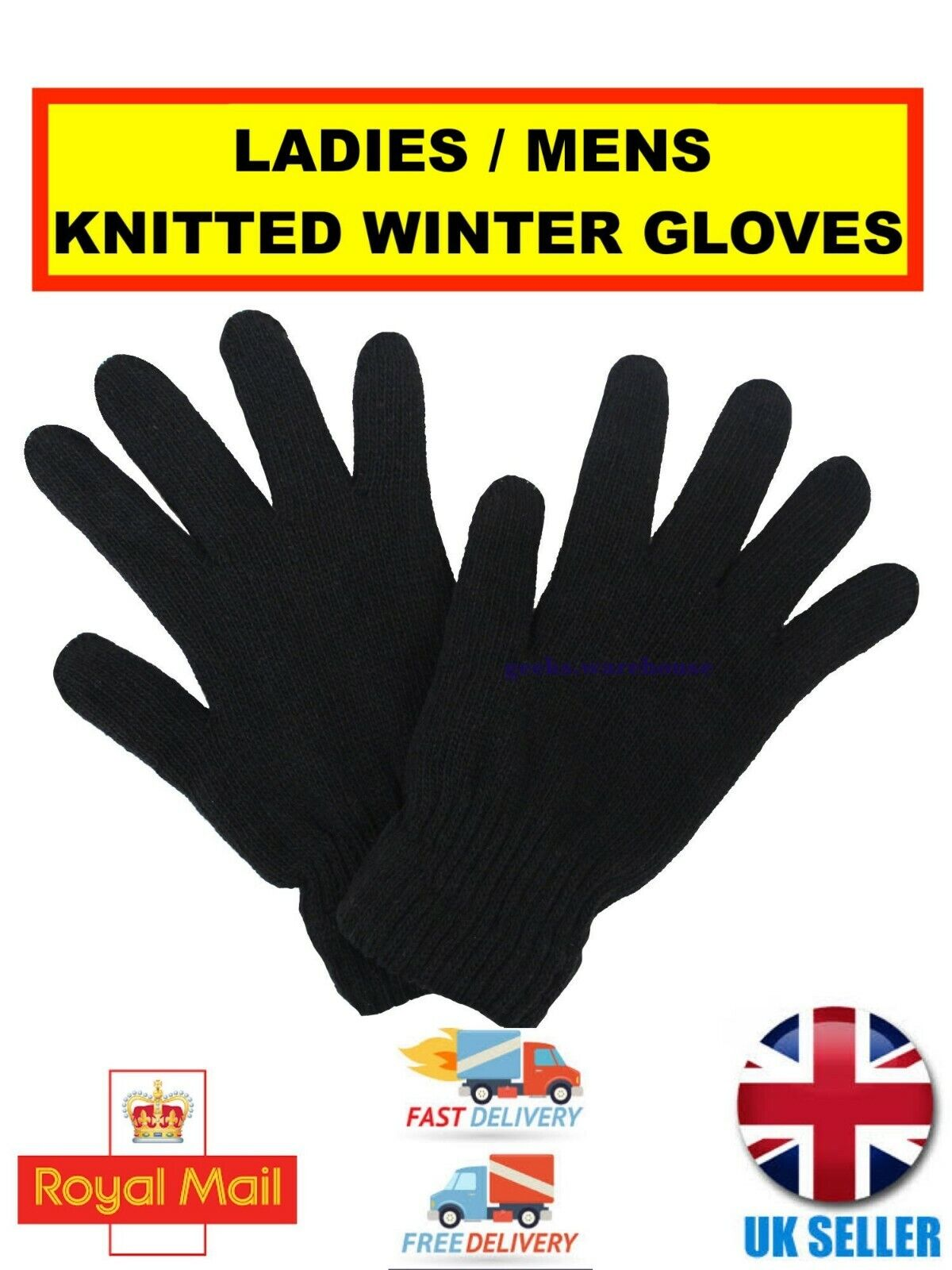 Ladies/Mens Fleece/Knitted Insulated Rock Jock R40 R80 Advanced Thermal Gloves