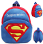 Toddler Kids Boy Girl Cartoon Backpack School Bag Plush Shoulder Bag Rucksack
