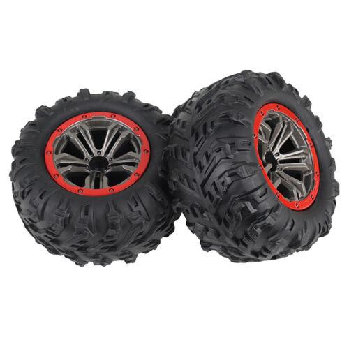 2 pcs XINLEHONG 9125 1//10 Autoreifen 46 Km H High Big Feet Truck Spielzeug