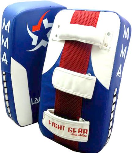 PAIR Pro Thai Kick Boxing Strike Curved Pad Muay UFC Gym MMA Focus Punch Shield