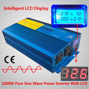 1000W-2000W-Pure-Sine-Wave-Inverter-12V-to-240V-Power-Camping-Caravan-IPOWER