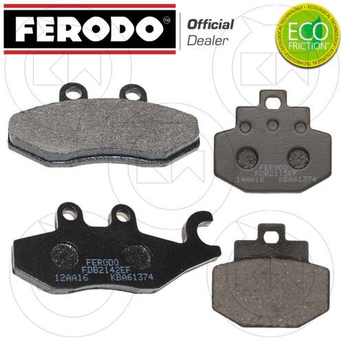 KIT PASTIGLIE ANTERIORE POSTERIORE FRENO FERODO PIAGGIO VESPA GTS 250 2008