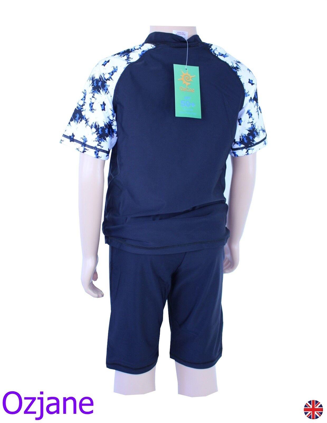 Avengers 2 Piece Swim Set Rash Vest /& Shorts  2-13 Years   *Closing Down Sale*