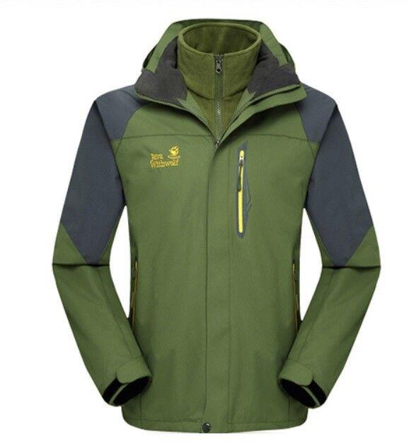 D60 Sie Army Grün Ski Snow Snowboard Waterproof Breathable Jacket S M L XL XXL