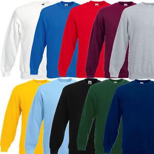Fruit-of-the-Loom-Herren-Sweatshirt-Pullover-280g-Sweat-S-M-L-XL-XXL-3XL