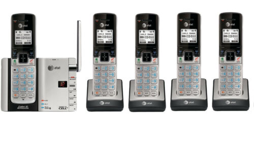 AT/&T TL92273 DECT 6.0 Connect to Cell BLUETOOTH 5 Handset Cordless Phone System