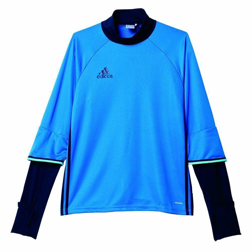 Adidas Fußball Condivo 16 Trainingsshirt Herren Training Top Langarm blau navy