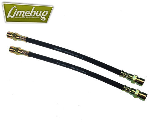 VW Brake Line Hose Front Drum 430mm Pair T1 Beetle T3 T2 Spilt Screen Early Bus