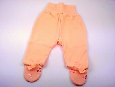 3-6 Months Baby GIRLS Trousers Pants with feet *100/% Cotton* BNWT